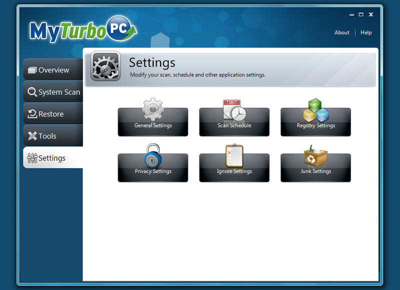 MyTurboPC setting shot